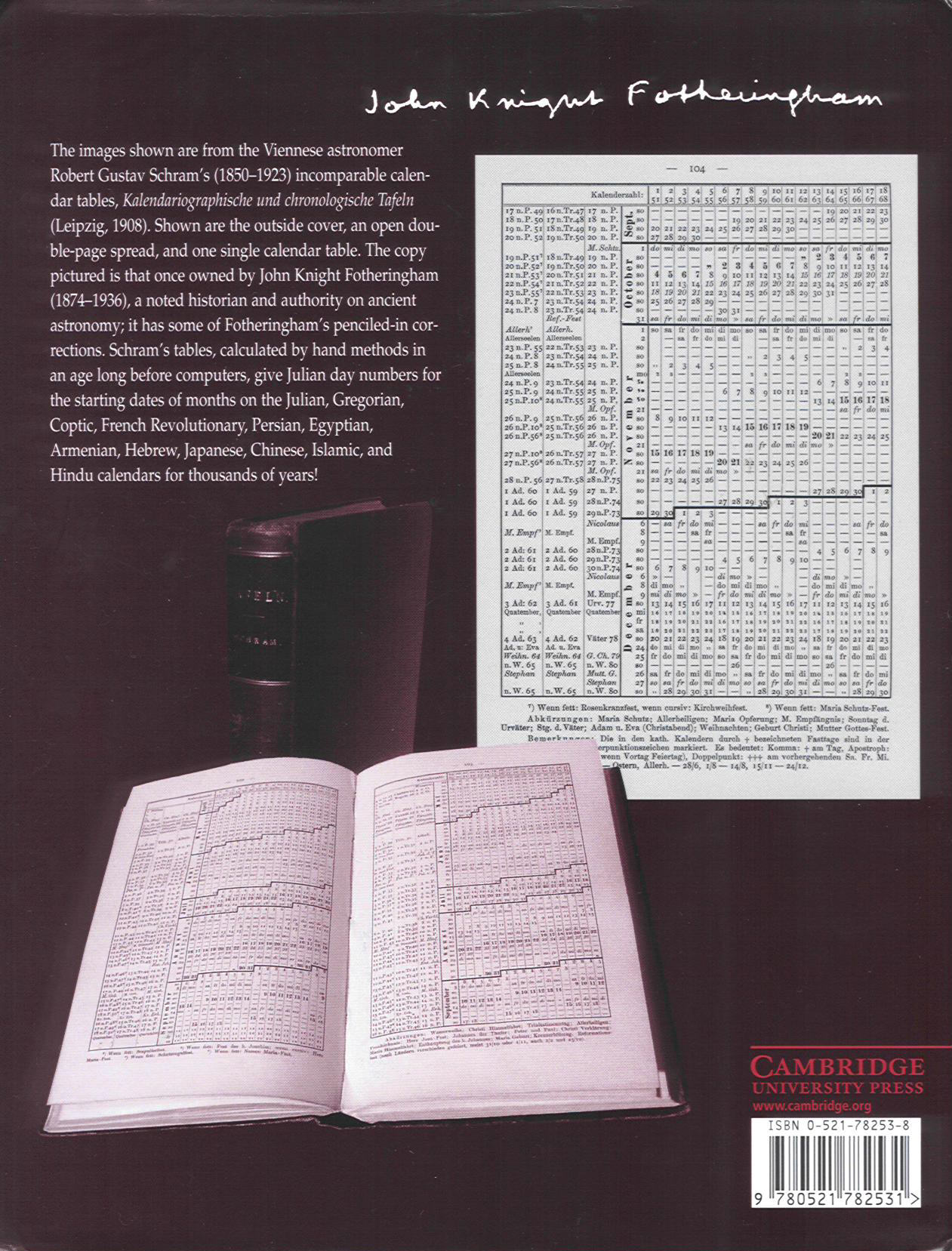 Calendrical Calculations, front cover